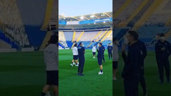 VIDEO | Il Napoli è arrivato al Leicester City Stadium!