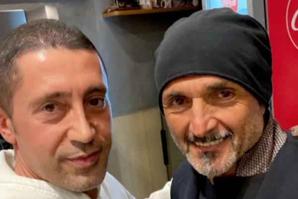 Spalletti in una delle pizzerie più conosciute di Napoli: dove è stato a cena