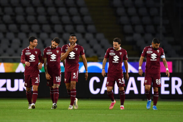Napoli-Torino, due calciatori granata in forte dubbio