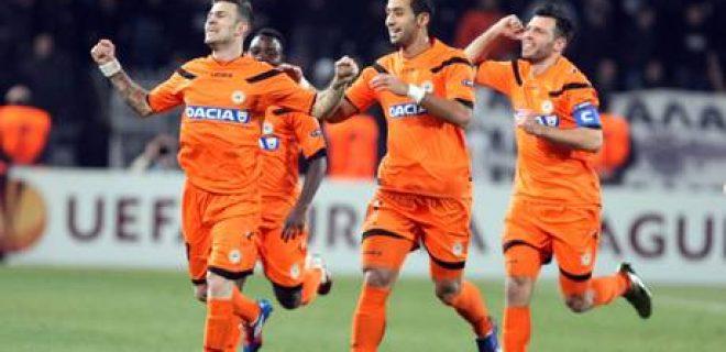 PAOK Thessaloniki vs Udinese Calcio