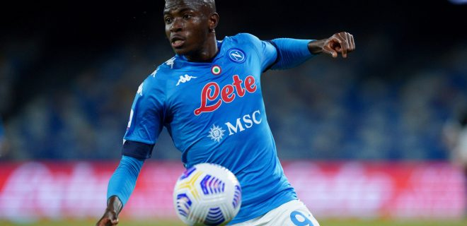 SSC Napoli v Udinese Calcio - Serie A Victor Osimhen of SSC Napoli during the Serie A match between Napoli and Udinese at Stadio Diego Armando Maradona, Naples, Italy on 11 May 2021. Naples Naples Italy maffia-sscnapol210511_nph8A PUBLICATIONxNOTxINxFRA Copyright: xGiuseppexMaffiax
