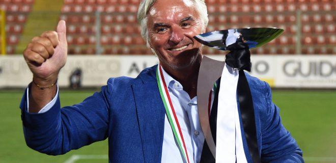 Fußball, La Spezia Calcio feiert den Aufstieg in die Serie A Db La Spezia 20/08/2020 - finale play off serie B / Spezia-Frosinone / foto Daniele Buffa/Image nella foto: Stefano Chisoli PUBLICATIONxNOTxINxITA