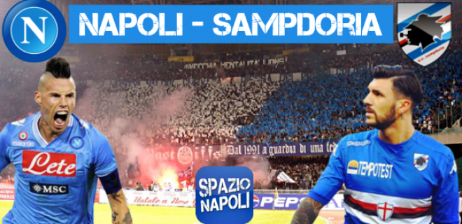 Copertina Napoli-Sampdoria 2015-2016