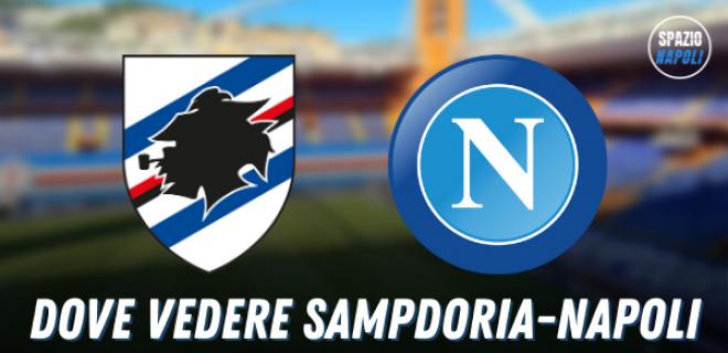 Dove-vedere-Sampdoria-Napoli