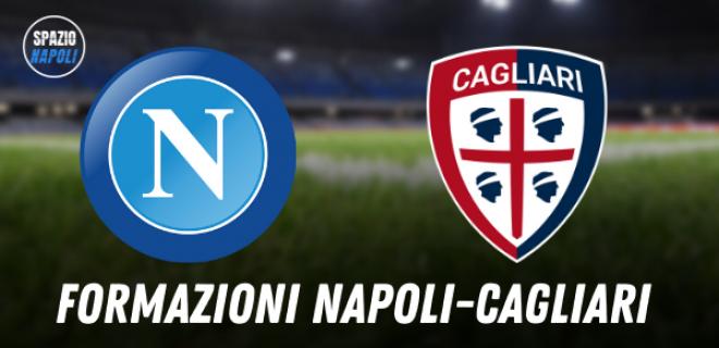 Formazioni Napoli Cagliari