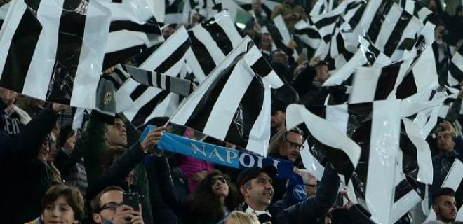 JUVENTUS, NAPOLINELLA FOTO: FOTO MOSCA tifosi juventus stadium