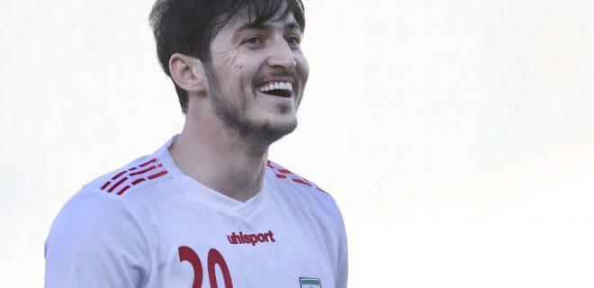 Sardar Azmoun of Iran during the International Friendly, Länderspiel, Nationalmannschaft match between Iran and Syria at Azadi Stadium in Tehran, Iran. Tehran, Iran, Mar 30st PUBLICATIONxNOTxINxBRA