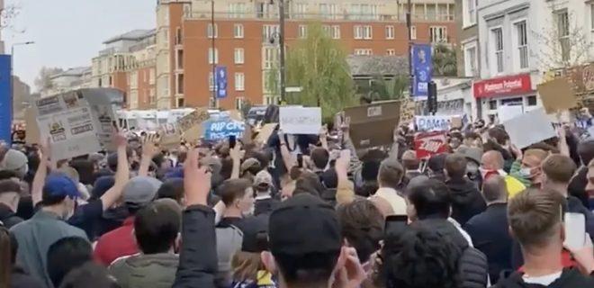 Chelsea Protesta Tifosi Super League 1024x933