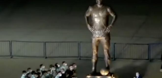 Maradona Statua Argentina